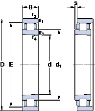 90 mm x 140 mm x 24 mm  SKF N 1018 KTN9/SP Rodamientos De Rodillos