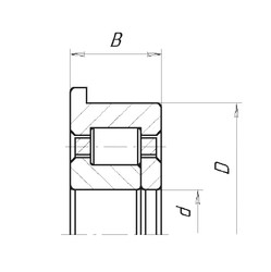 85 mm x 150 mm x 28 mm  SKF BC1B322162 Rodamientos De Rodillos