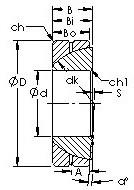 AST GAC32S Rodamientos Deslizantes
