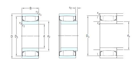 120 mm x 200 mm x 80 mm  SKF C4124-2CS5V/GEM9 Rodamientos De Rodillos