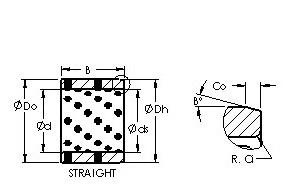 AST AST650 223220 Rodamientos Deslizantes