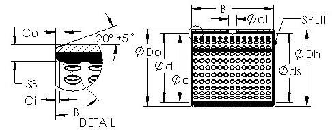 AST AST800 1010 Rodamientos Deslizantes