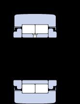 50 mm x 110 mm x 32 mm  SKF NUTR 50110 A Rodamientos De Rodillos