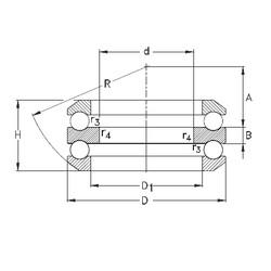35 mm x 100 mm x 17 mm  NKE 54409 Cojinetes De Bola