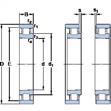 105 mm x 160 mm x 26 mm  SKF N 1021 KTNHA/HC5SP Rodamientos De Rodillos