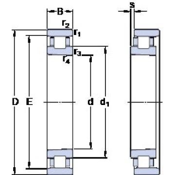 100 mm x 150 mm x 24 mm  SKF N 1020 KTN9/HC5SP Rodamientos De Rodillos