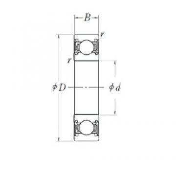 30 mm x 65 mm x 18 mm  INA 712135010 Cojinetes de bolas profundas