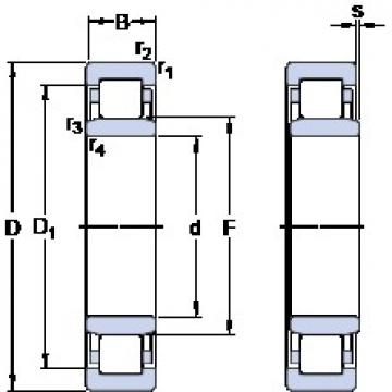 55 mm x 120 mm x 29 mm  SKF NU 311 ECM/C3VL0241 Rodamientos De Rodillos