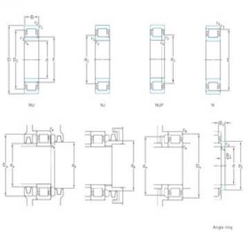 30 mm x 72 mm x 27 mm  SKF NJ2306ECP Rodamientos De Rodillos