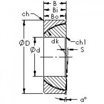 AST GAC190T Rodamientos Deslizantes