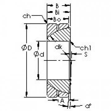 AST GAC55S Rodamientos Deslizantes