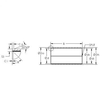 AST AST850SM 10580 Rodamientos Deslizantes