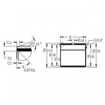 AST AST40 1820 Rodamientos Deslizantes
