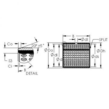 AST AST800 1410 Rodamientos Deslizantes