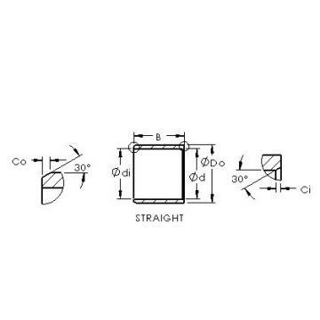 AST ASTEPB 3034-40 Rodamientos Deslizantes