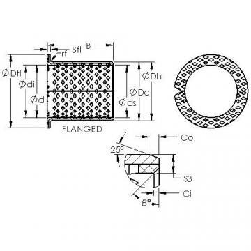 AST ASTB90 F25080 Rodamientos Deslizantes