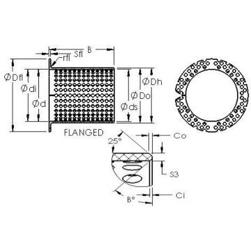AST ASTT90 F25070 Rodamientos Deslizantes