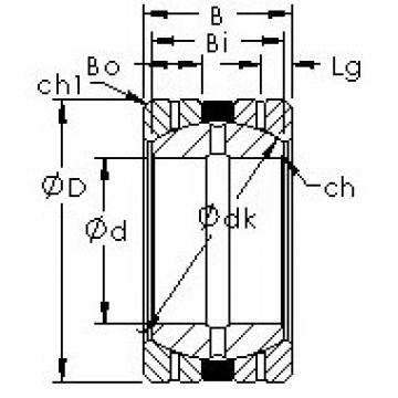 AST GEGZ31HS/K Rodamientos Deslizantes