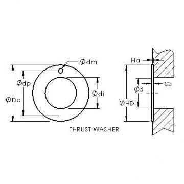 AST ASTEPBW 2238-015 Rodamientos Deslizantes