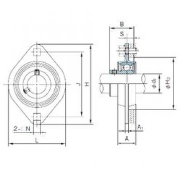 NACHI BPFL7 Unidad De Rodamiento