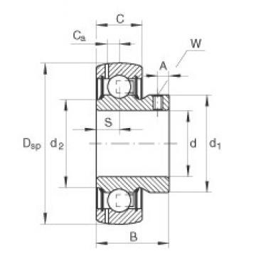 INA GAY12-NPP-B-FA164 Cojinetes de bolas profundas