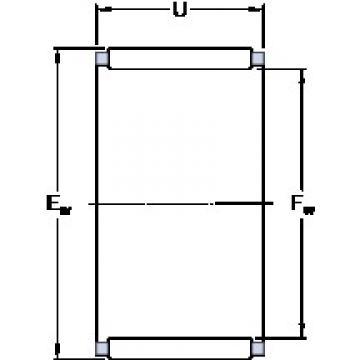 SKF K 18x22x17 Rodamientos De Rodillos