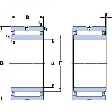 12 mm x 24 mm x 20 mm  SKF NKI 12/20 Rodamientos De Rodillos
